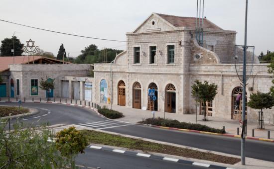 בנין התחנה הראשונה לאחר שימור - באדיבות עיריית ירושלים