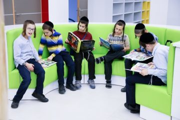 עם הספר: תעסוקה לילדי ביתר