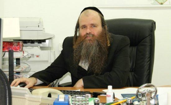 """פנחס הומינר נציג קרעטשניף/אגודת ישראל. (צילום: יח""""צ)"""