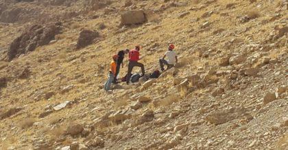טרגדיה בטיול: אב נהרג ובנו נפצע קשה כשנפלו מצוק