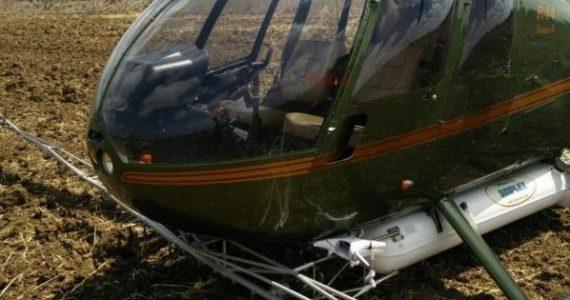 מעל פתח תקוה: רחפן פגע במסוק שנחת 'חירום'