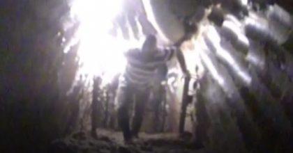 צפו: ה-CNN הכניסו מצלמה למנהרות חיזבאללה