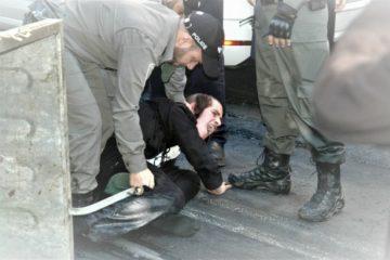 הפגנות סוערות בירושלים עקב מעצר חסיד ברסלב