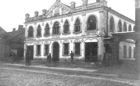 """ה""""הקדש שול"""" בבריסק"""