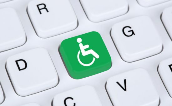 Web accessibility online on internet website computer for people with disabilities אתר מונגש