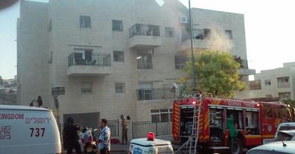 6 פצועים בשריפה בביתר עילית: צפו בחילוץ