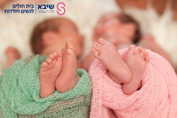 443 זוגות תאומיםנולדו בשיבא בשנת 2020