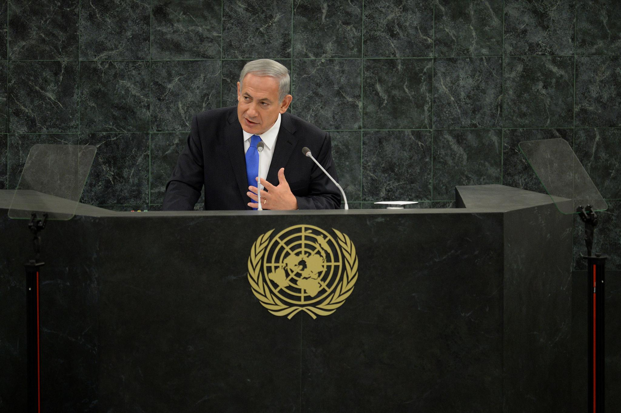 """פרסום ראשון: בגלל ראש השנה, נאום נתניהו באו""""ם יוקדם"""