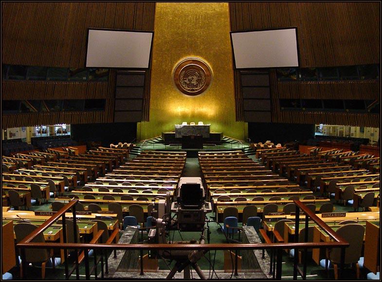 """היסטוריה באו""""ם: 117 מדינות תמכו בהצעה ישראלית"""