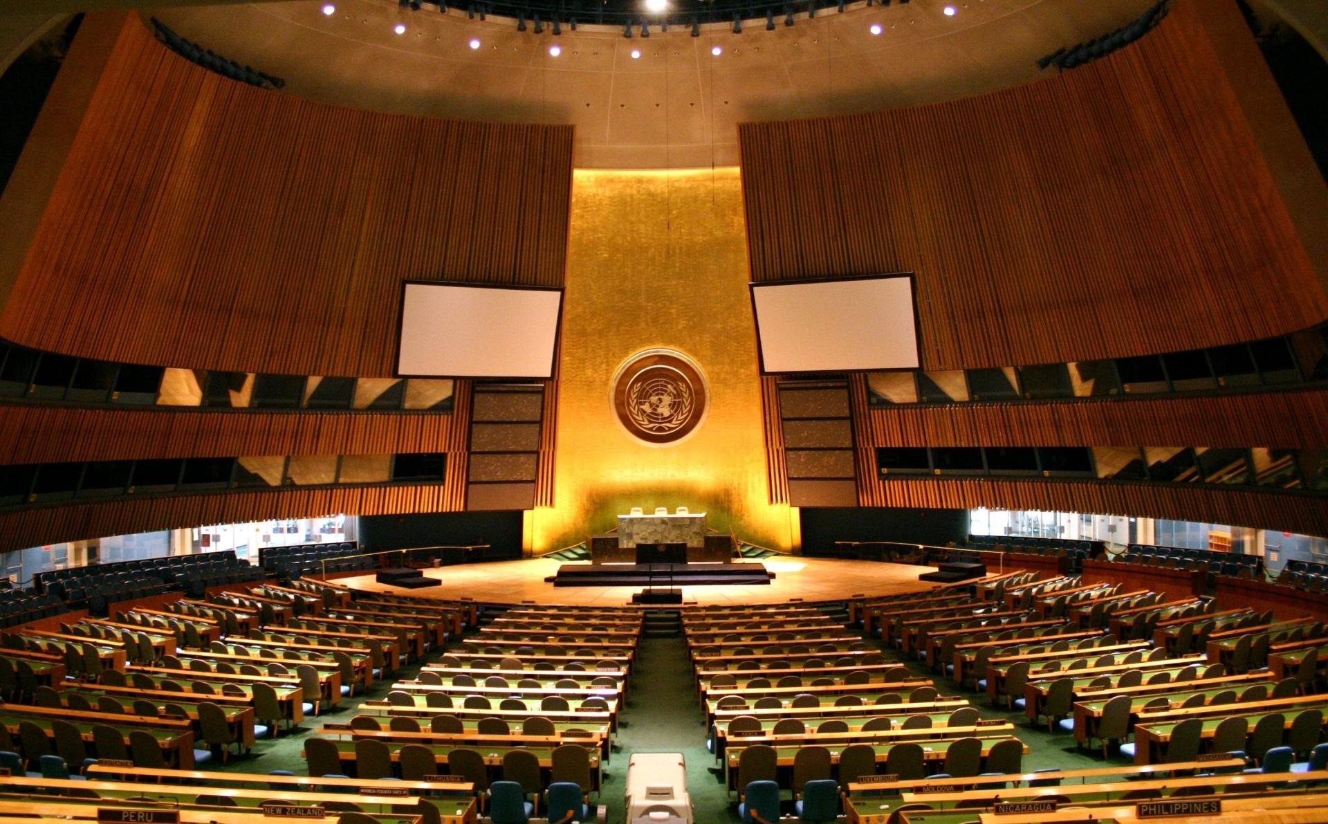 """הישג דיפלומטי; נציגי מדינות רבות נעדרו מאירוע של הפלסטינים באו""""ם"""
