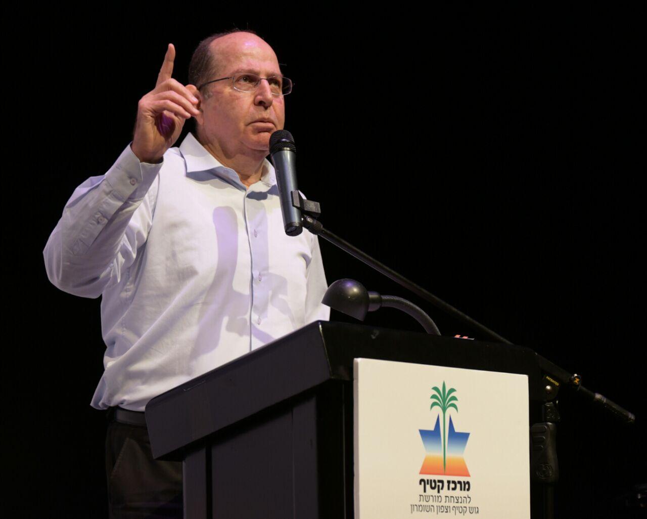 בוגי יעלון: ראש הממשלה צריך להתפטר היום