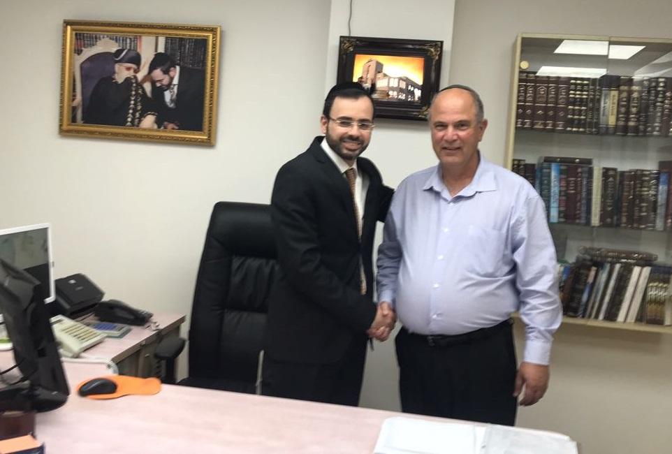 סגן ראש העיר לשעבר מונה לראש לשכת ממלא מקום ראש העיר המכהן