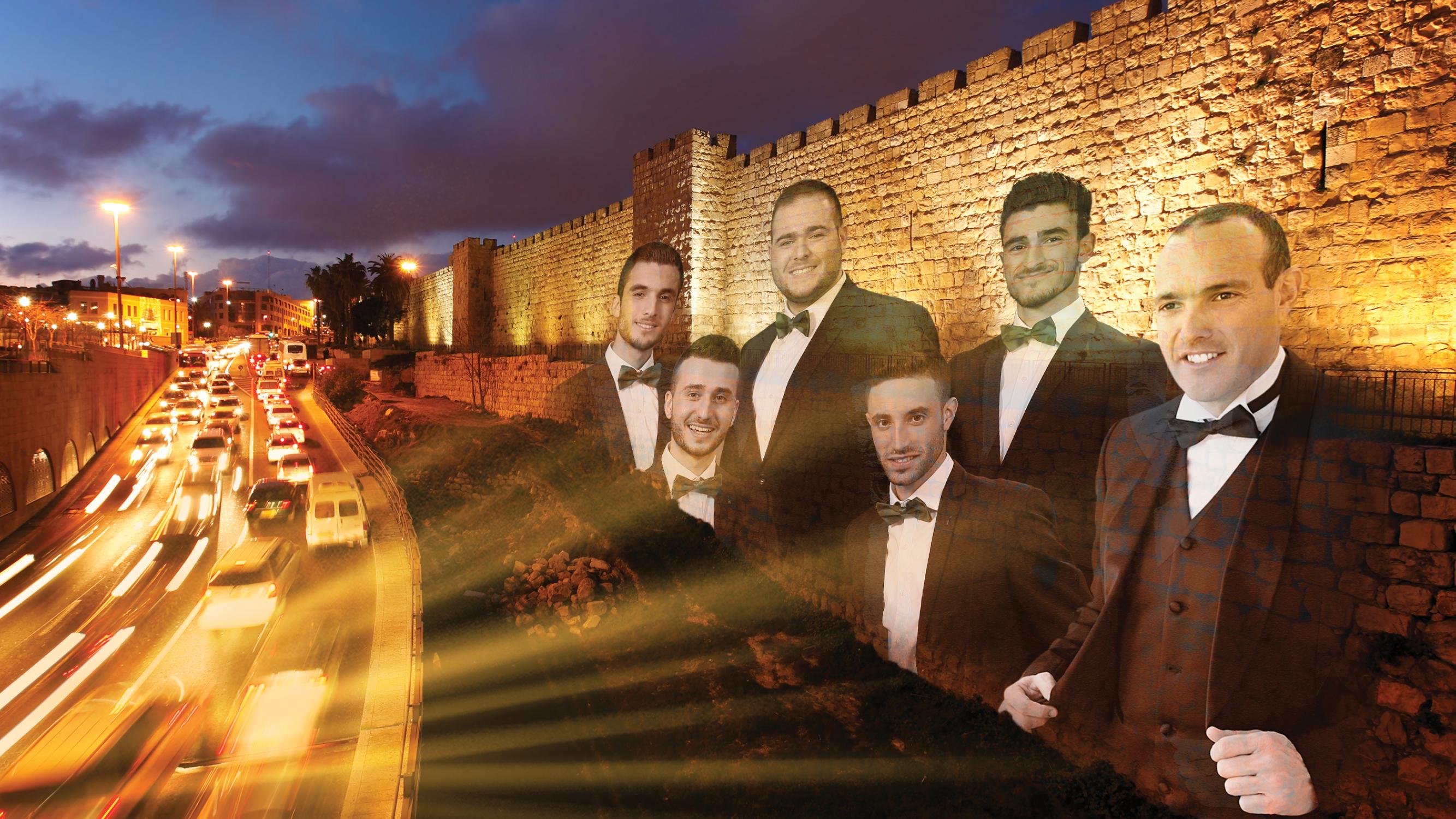 החזן הצבאי הראשי ופקודיו לשעבר בסינגל לכבוד 50 לאיחוד ירושלים