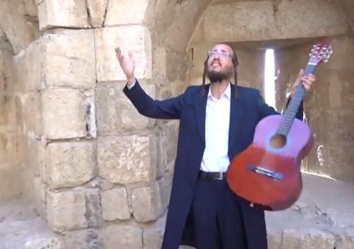 """יואלי שטיינברג בשיר וקליפ מרהיב """"ויחן שם ישראל"""""""