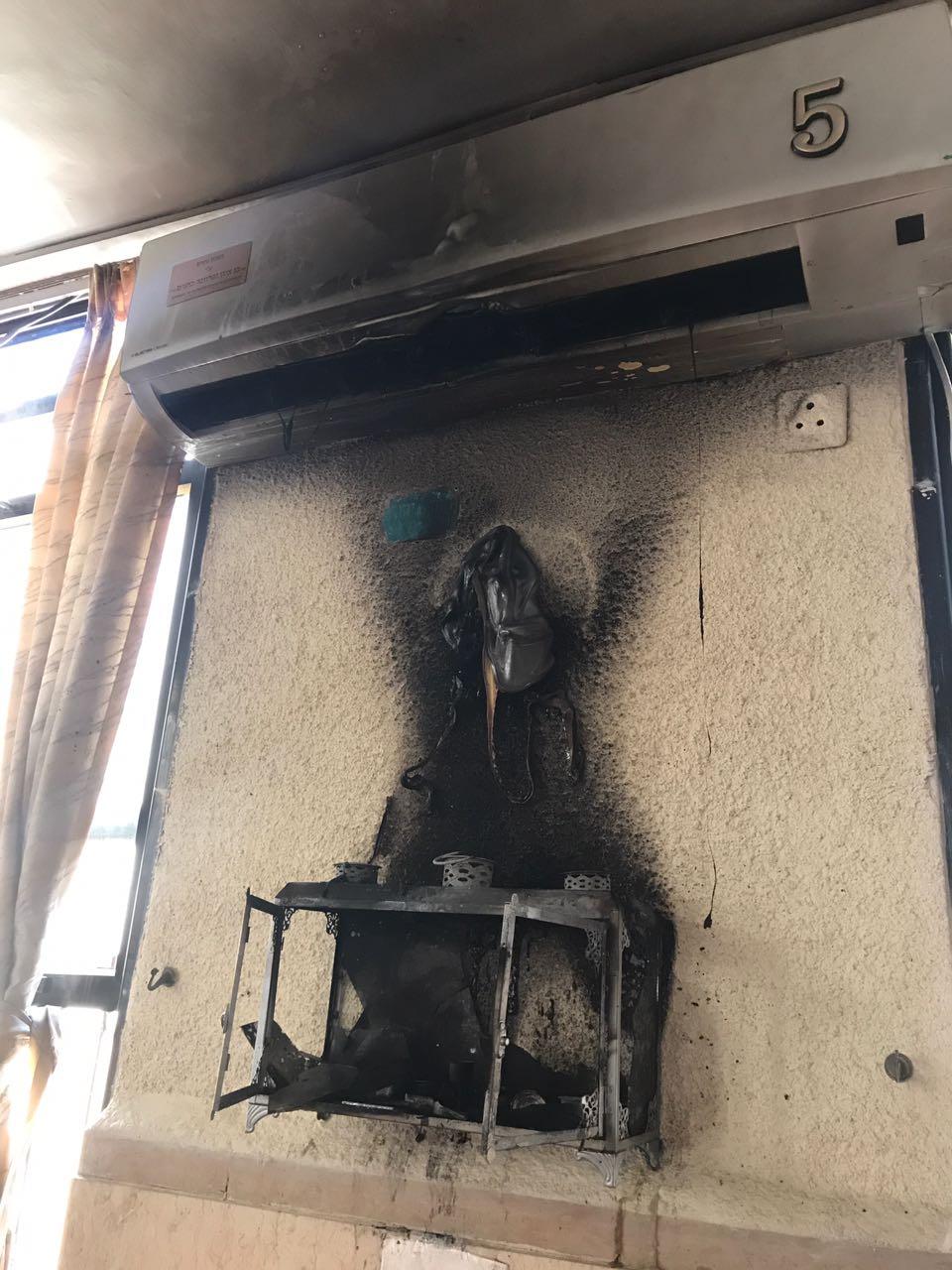 בני ברק: ילדים הציתו אש בבית הכנסת הסמוך לבית סיפרם