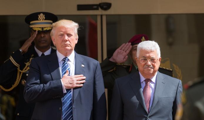 טראמפ הזמין את אבו מאזן לפגישה בבית הלבן