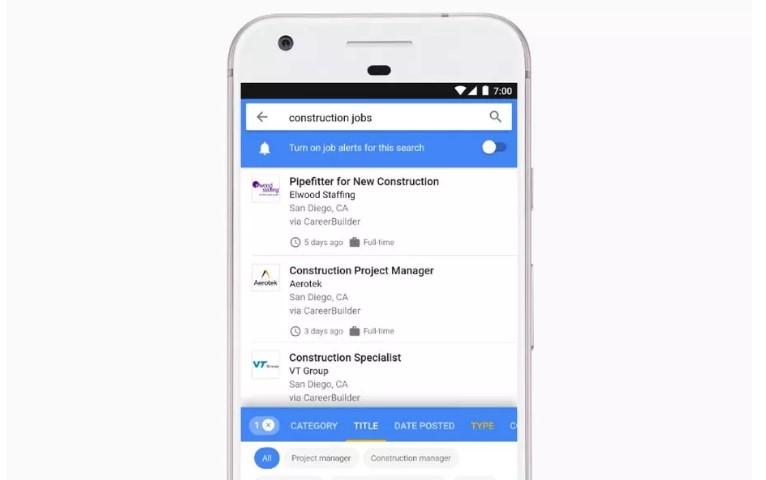 מחפשים עבודה? גוגל תעזור לכם לאתר אחת בקלות ויעילות