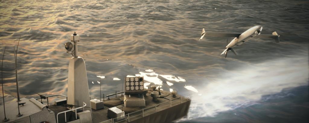 התעשיה האווירית הציגה בפריז: המשוטט הברקן הירוק בתחמושת חדשה