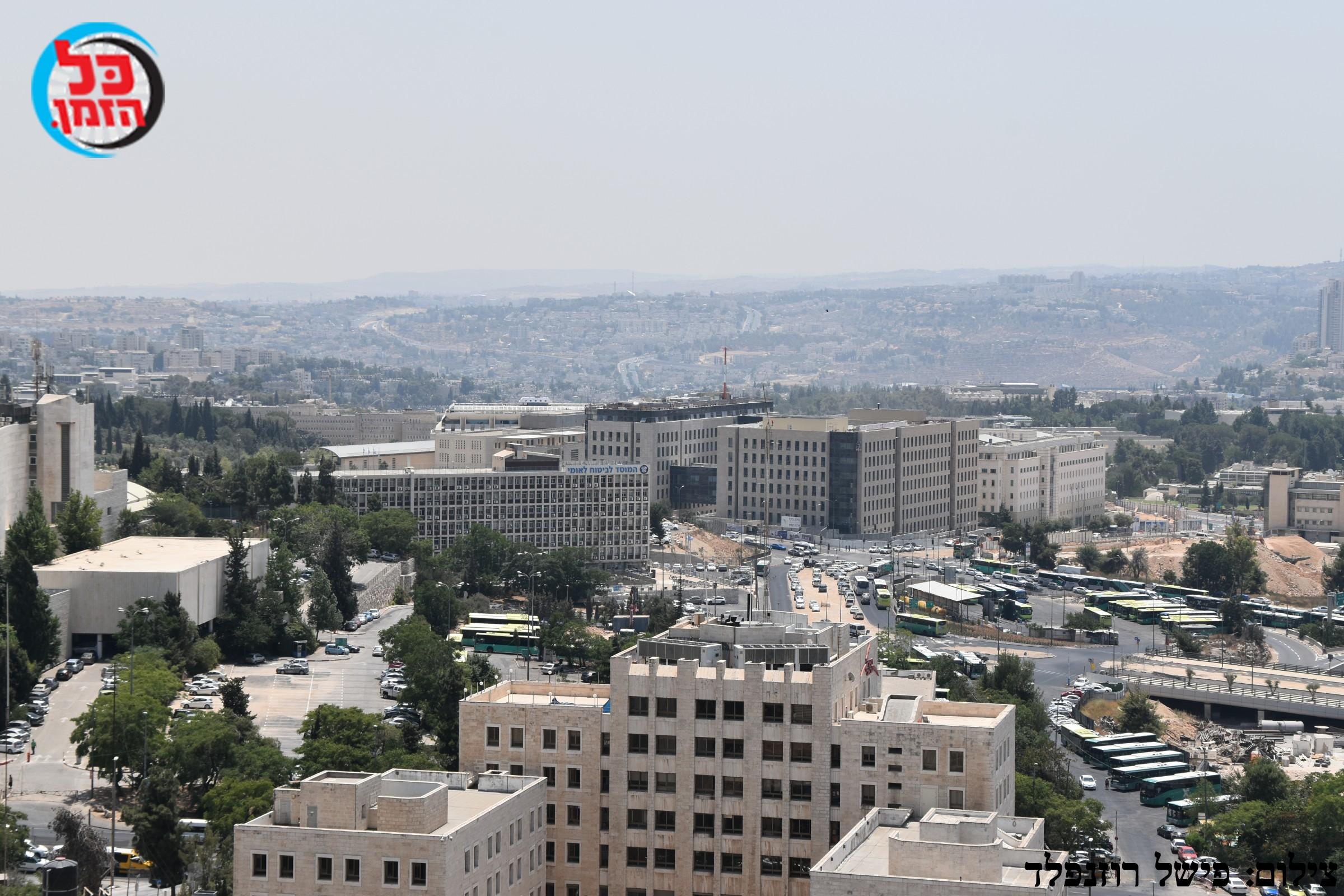 """הסדרי תנועה בירושלים: חול המועד סוכות תשע""""ח"""