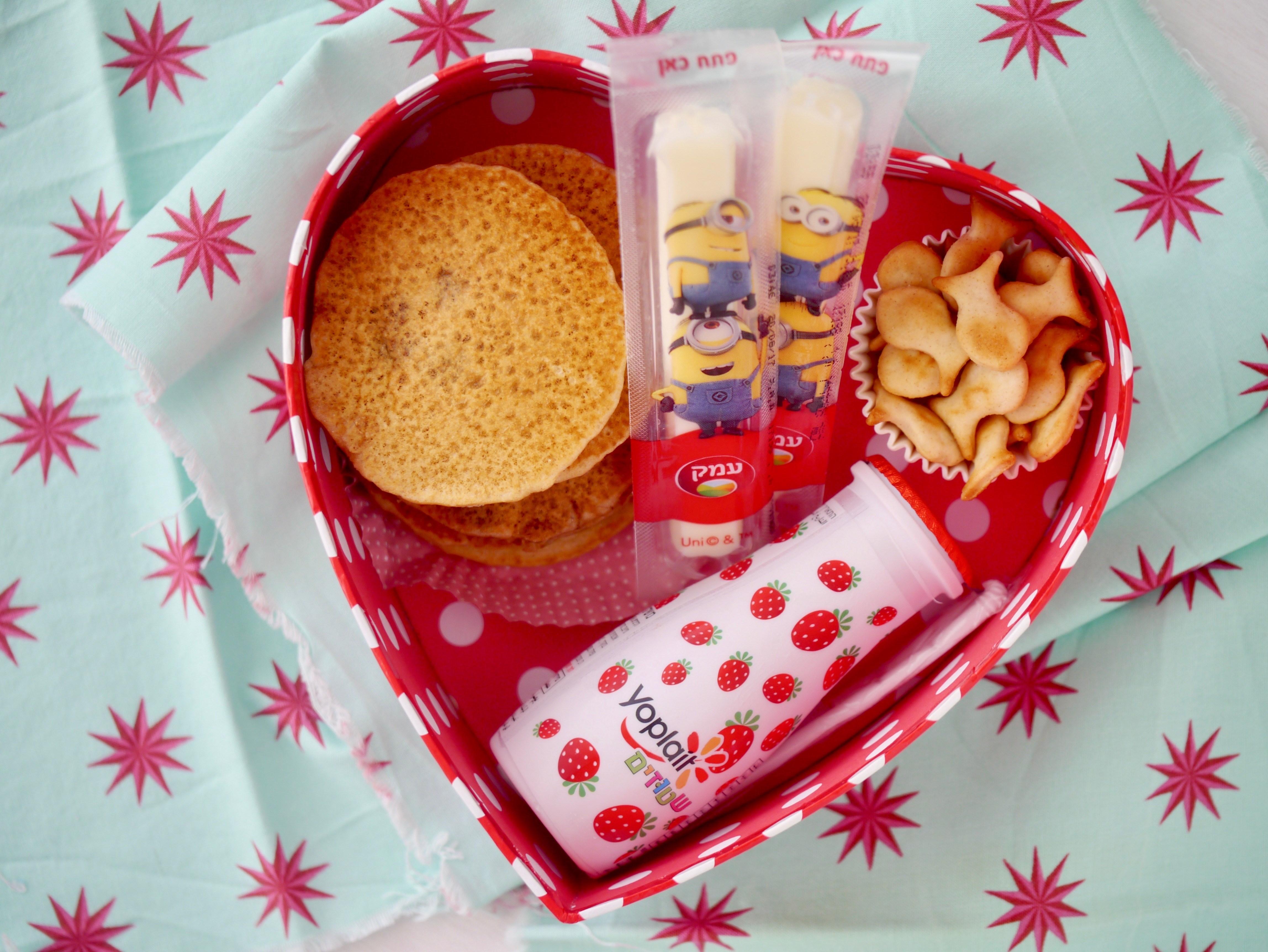 ארוחת עשר: הצעות הגשה לקופסת האוכל לבית הספר