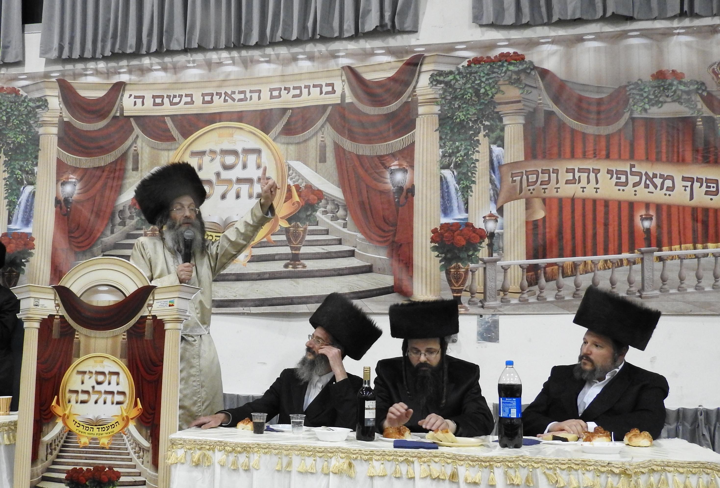 ביתר עילית: 'שבת נחמו' בצלהמשפיע רבי אלימלך בידרמן