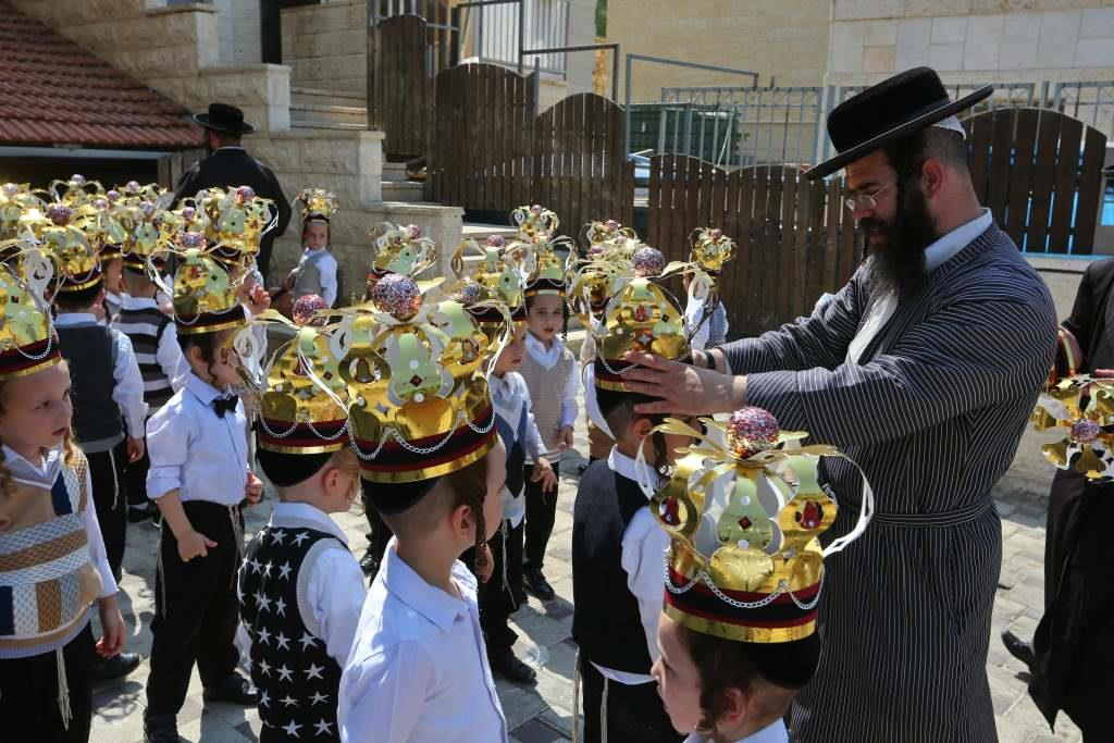 תיעוד מרגש לימי החופשה: ילדי 'טוב ירושלים' מבית שמש, החלו ללמוד חומש