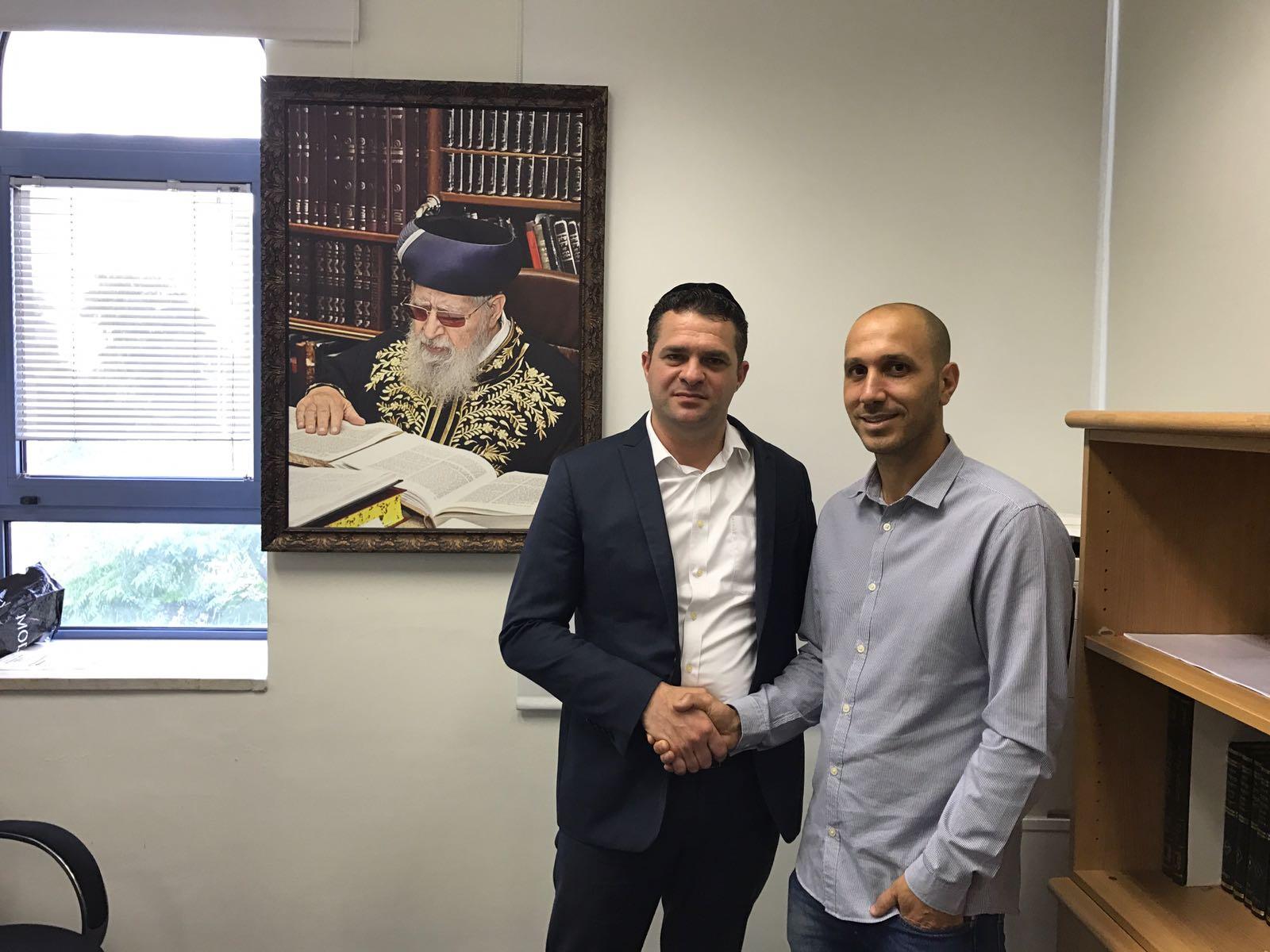 """ציון לשבח של חבר מועצת העיר ירושלים למנכ""""ל פנגו"""