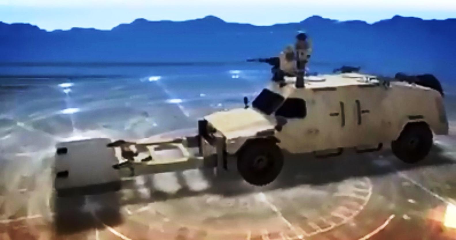 וידאו מתעד: שומר הטנקים מבית היוצר של התעשיה האווירית לישראל