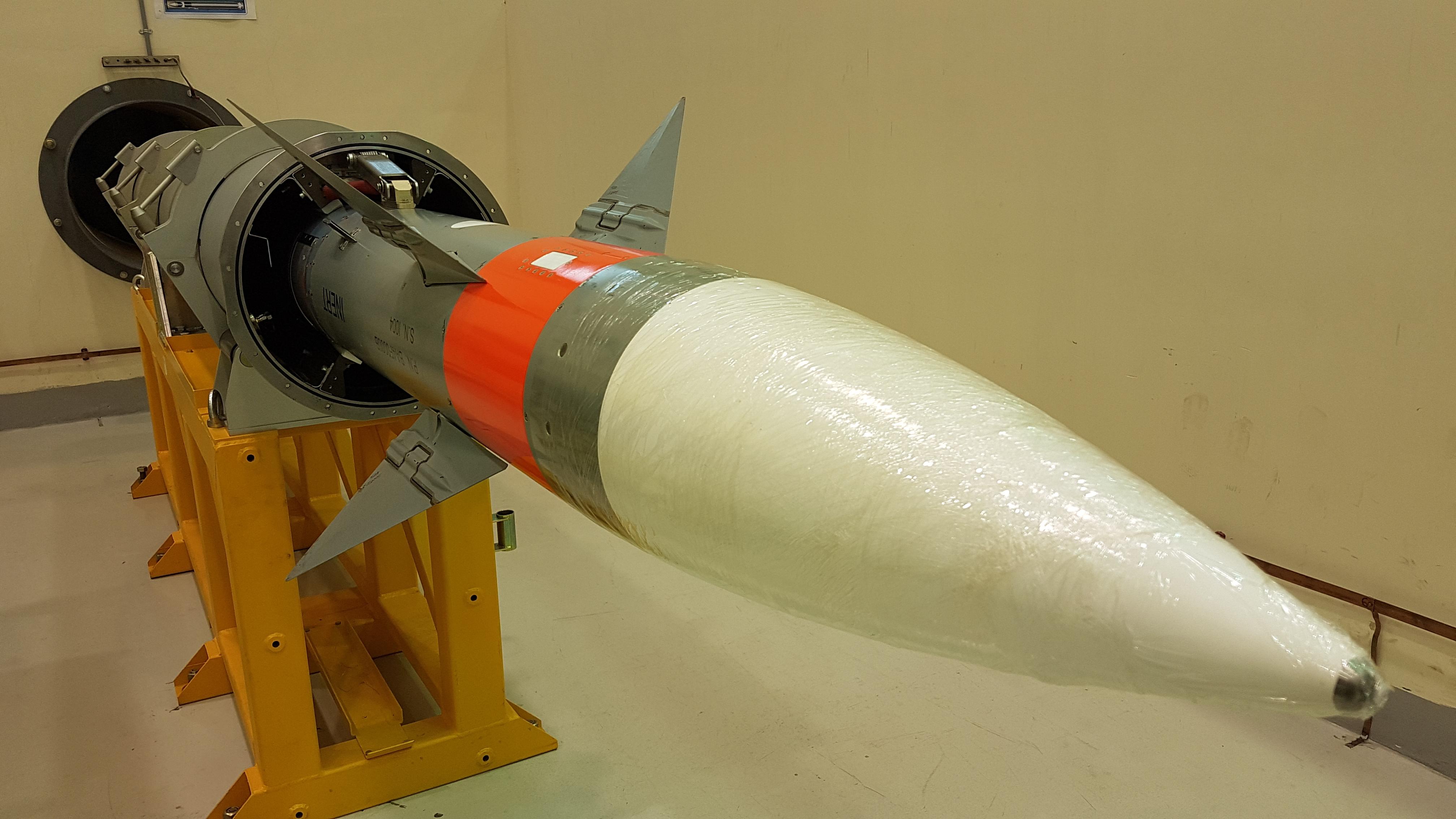 הטיל הישראלי הראשון שיוצר בהודו הוענק לחיל הים המקומי
