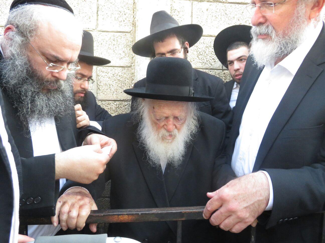 32 שנים חלפו: הילולת בעל 'הקהילות יעקב' אצל בנו