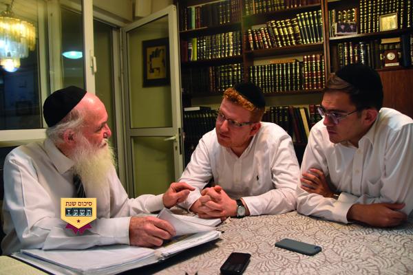 יש דין ויש דיין • ראיון חג עם הדיין הרב אברהם חיים שרמן