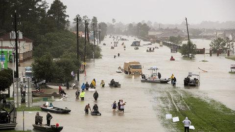סיכום ביניים: למעלה מחצי מליון משפחות נפגעו בסופה הארווי