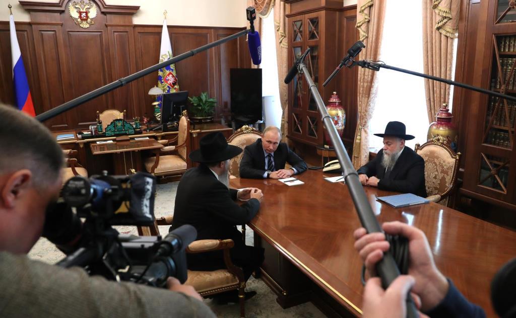 נשיא רוסיה: שפע ברכות ליהודי רוסיה לרגל ראש השנה