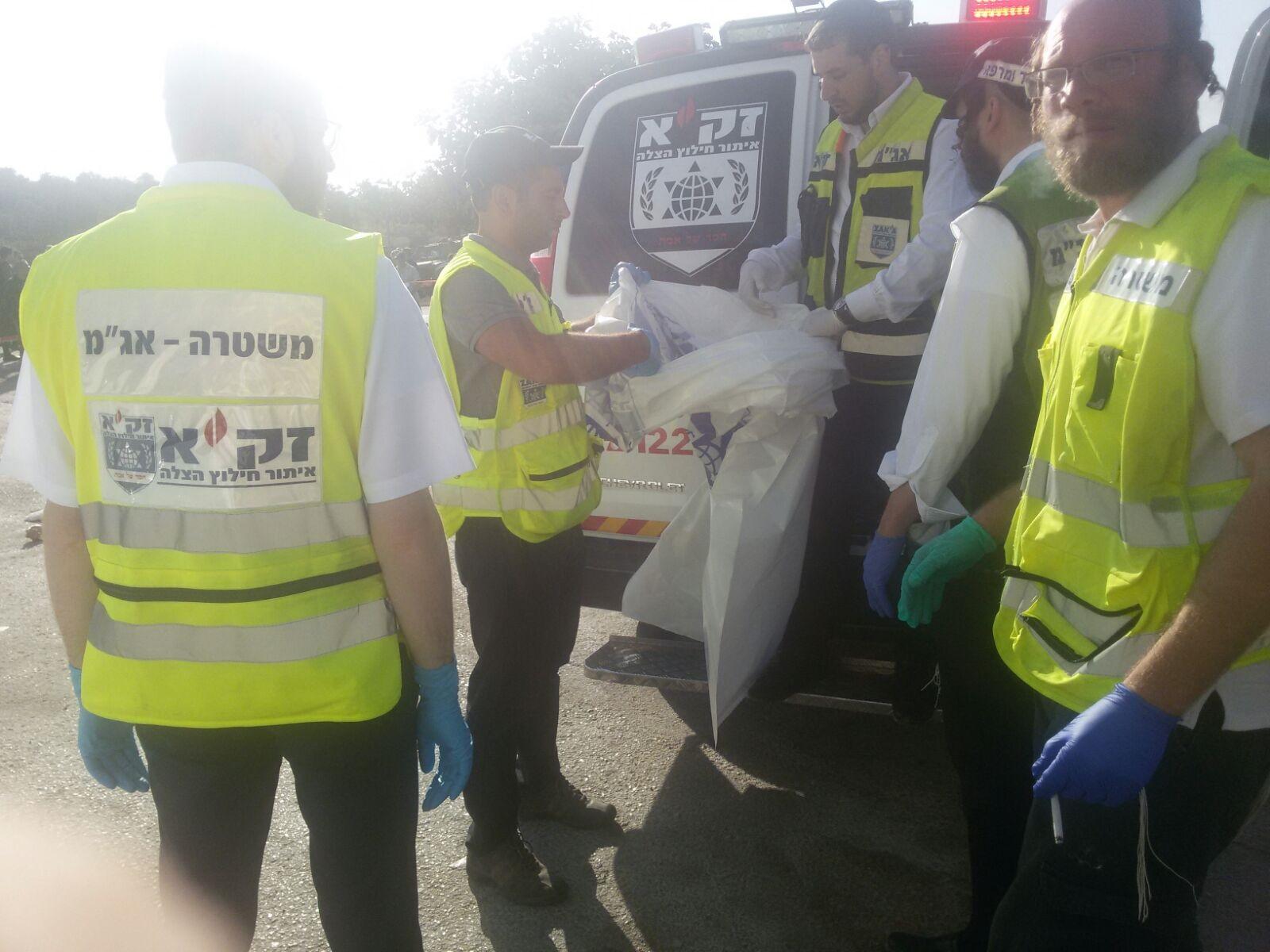 הפלסטיני הזעיק את מגן דוד אדום לטפל בפיגוע, הבוקר