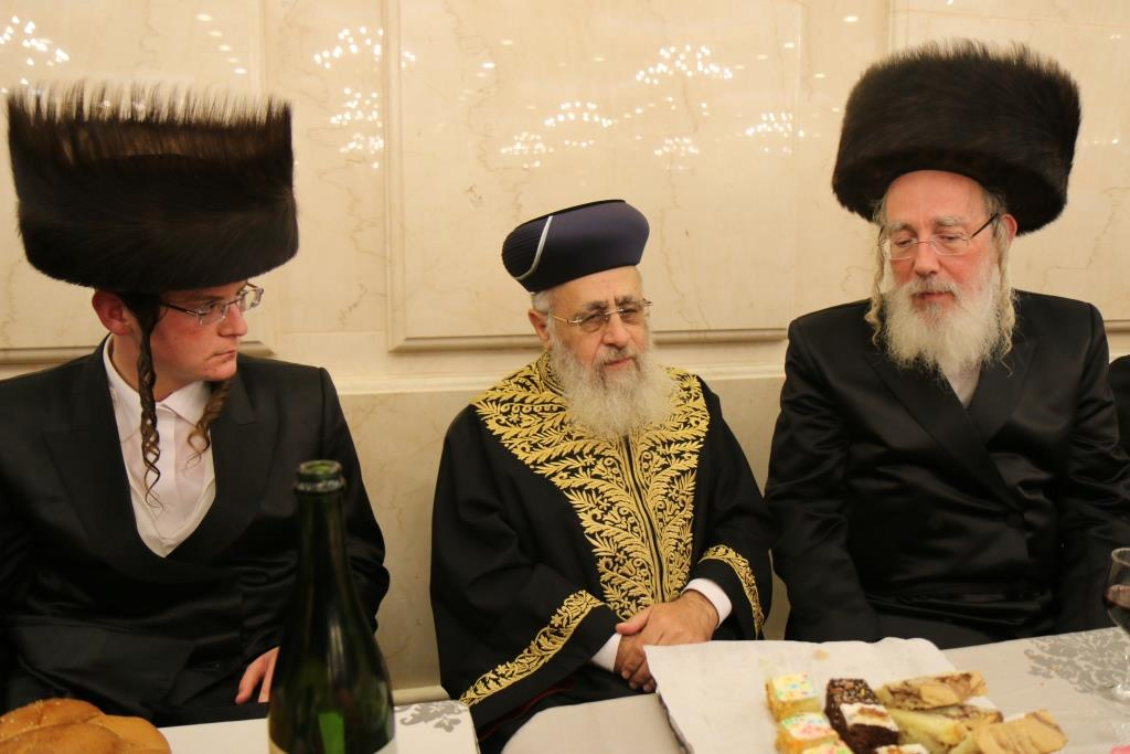 כֻּלָּם נִקְבְּצוּ בָאוּ • חתונת בתו של חבר הכנסת ישראל איכלר • צפו