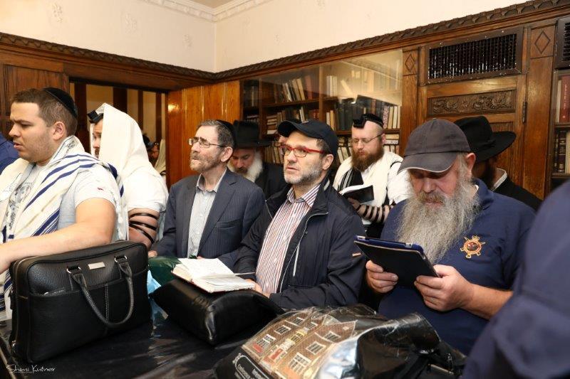"""בפעם העשירית: קבוצת תומכי הקהילה היהודית במוסקבה נסעו ל""""שבת סליחות אצל הרבי"""""""