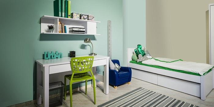 ברוח חג הסוכות, רהיטי דורון מציעה: פריטים לעיצוב חדר הילדים והנוער בצבע ירוק