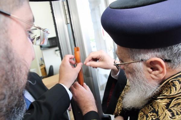 בית הדין החדש בחיפה נחנך במעמד הראשון לציון והשר לשירותי דת