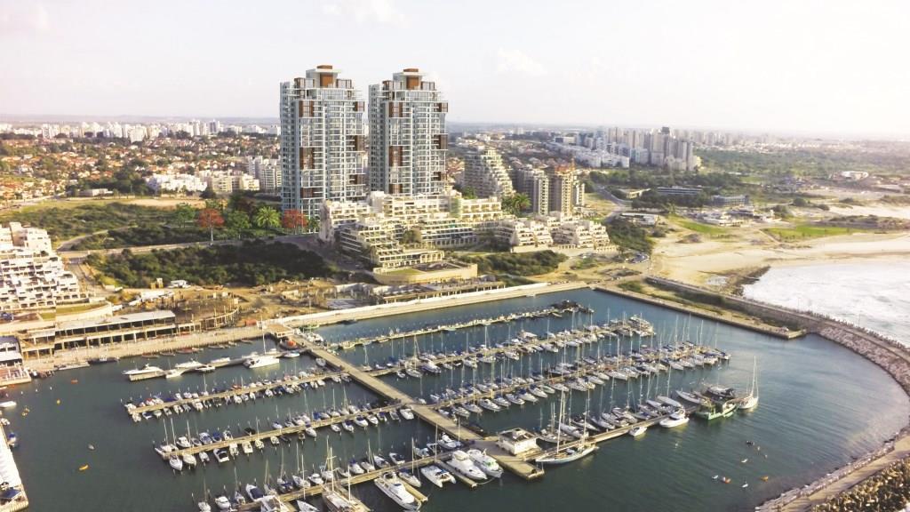 חברת יורו ישראל קיבלה היתר חפירה ודיפון לפרויקט SEA@SKY באשקלון