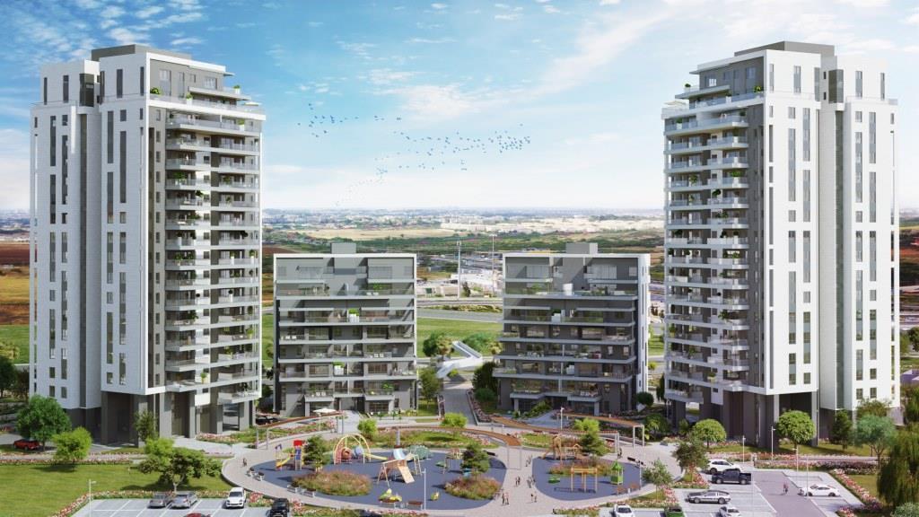 """צרפתי שמעון מכרה כ- 85% הדירות בפרויקט מגדלי צרפתי בראשל""""צ"""