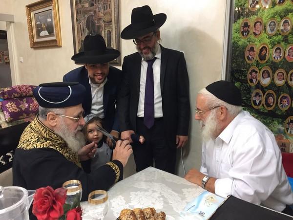 """ביקור חולים • הראשל""""צ ביקר את ראב""""ד תל אביב • גלריה"""