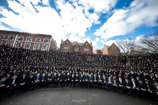 התמונה המסורתית: העולם היהודי בתמונה אחת