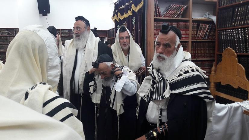 זקני רבני העדה ביקרו במרכז 'חזון יוסף'