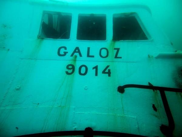 """צפו בתיעוד: """"גלעוז"""" הוטבע מול חופי הרצליה וישמש אטרקציה לצוללנים"""