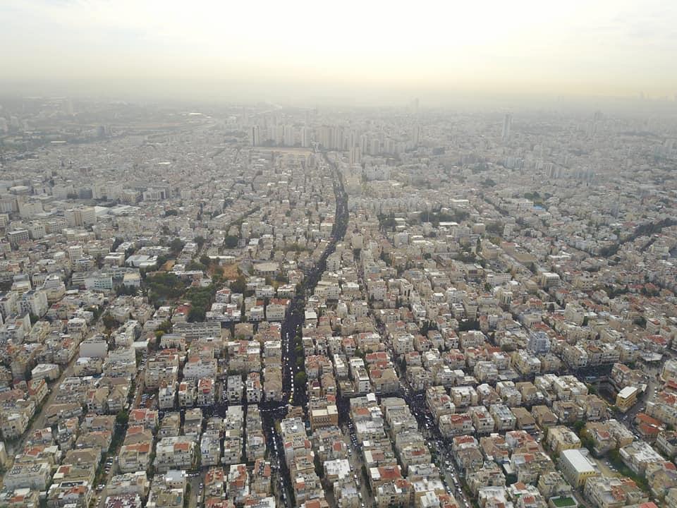 מרחפן המשטרה: תיעוד נוסף של מסע ההלוויה