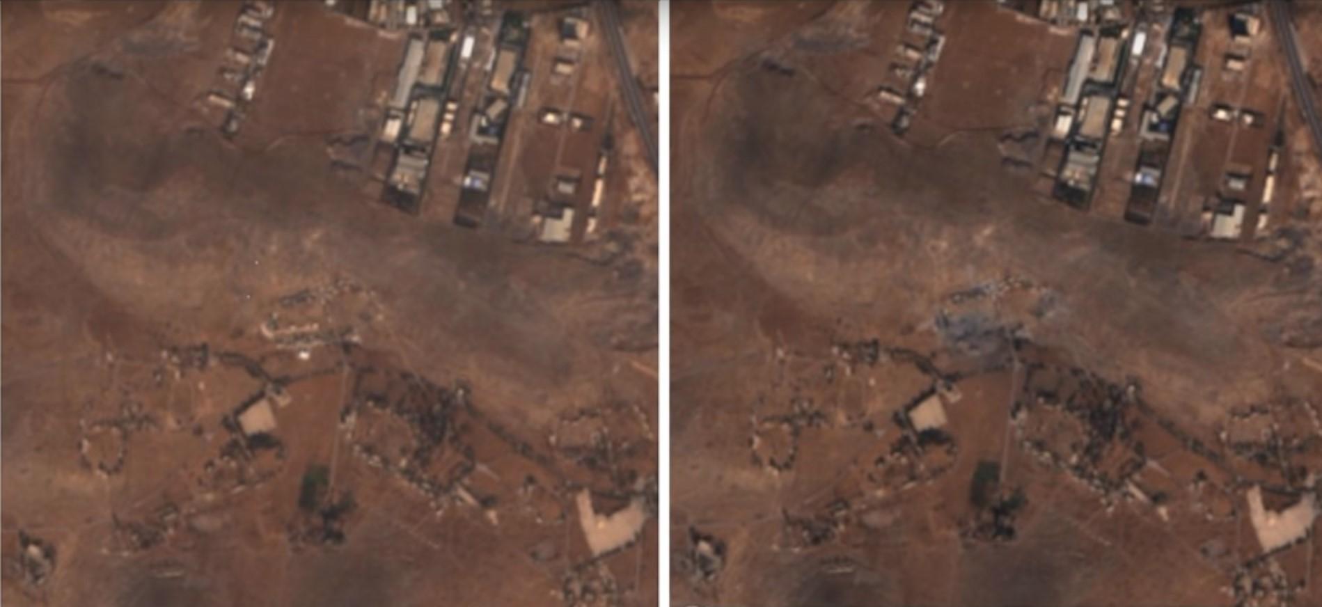 צפו: התקיפה בסוריה, בה מואשמת ישראל