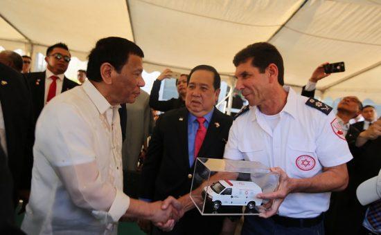 ביקור נשיא הפיליפינים רודריגו דוטרה במדא - צילום דובורת מדא 4.9.18 (4)
