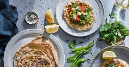 טורטיה עם ירקות וטופו – מועשר בחלבון