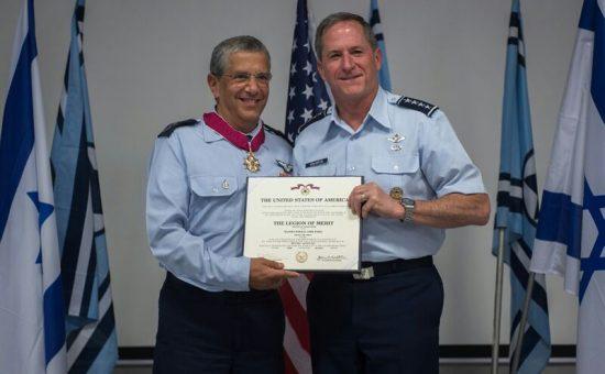 טקס חילופי מפקדים בחיל האוויר, צילום דובר צהל (4)