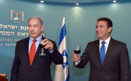 יוסי כהן וראש הממשלה, צילום GPO